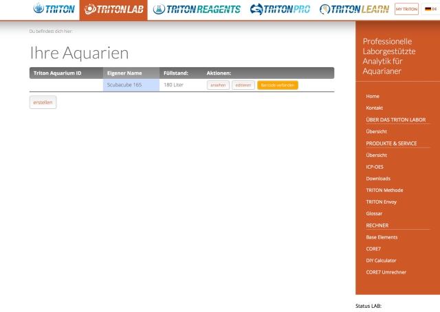 aquarienverwaltung